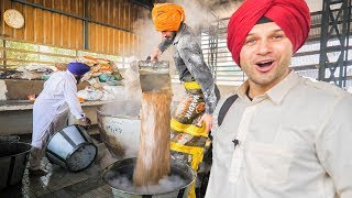 connectYoutube - INDIAN FOOD HEAVEN at the BIGGEST MEGA KITCHEN 2018! AMAZING TRAVEL DOCUMENTARY in the GOLDEN TEMPLE
