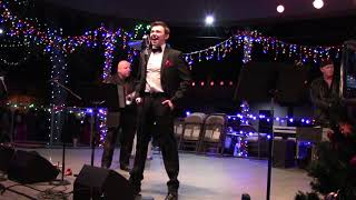 """Lighting Of The Trees Ceremony - The Max Pack   Max Manzanares """"White Christmas"""""""