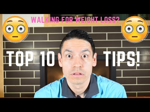 Top 10 Tips For Walking For Weight Loss