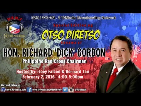 BAKIT KITA IBOBOTO WITH GUEST RICHARD GORDON (phone patch) F