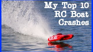 Top 10 RC Boat Crash Compilation