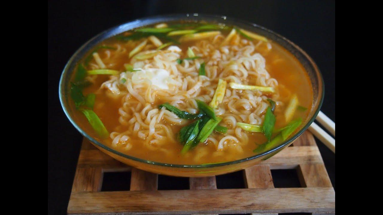 рамен рецепт корейский в домашних условиях с фото