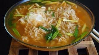 Корейская кухня: лапша быстрого приготовления или корейский рамЁн (라면)