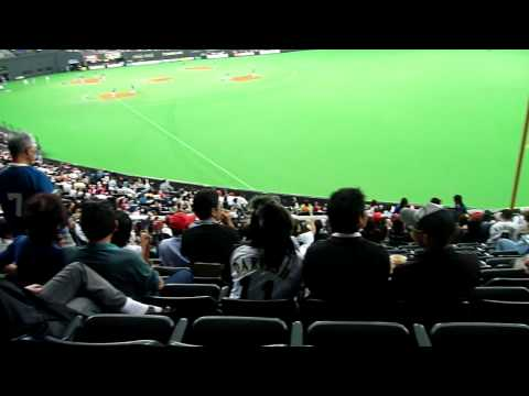 09-10-03 nippon-ham fghters vs marines crowd panorama