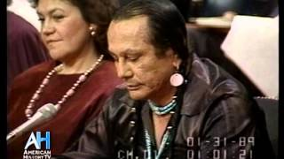 From the C-SPAN Video Library - Mr. Means harshly criticizes the Bureau of Indian Affairs and Indian leadership of reservations. Russell Means died October 22 ...