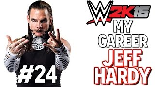 WWE 2K16: My CAREER - Jeff Hardy - 24 (Jeff Hardy vs The Rock)
