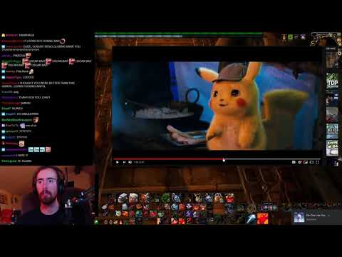 Asmongold Reacts to POKÉMON Detective Pikachu - Official Trailer #1
