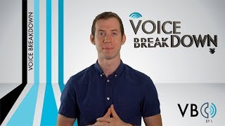 """Ep. 1 - """"What Is A Voice Breakdown?"""" - How To Do Voice Impressions"""
