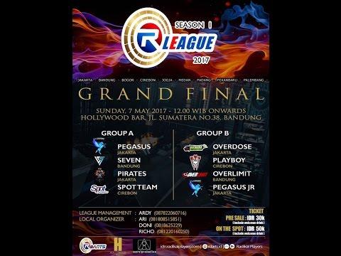 R League season 1 GRAND FINALSfinals @Hollywood Bar (Bandung)