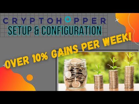 Cryptohopper Review: My setup & configuration for true daily gains