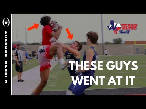 They went at it every play!! Keller Indians vs Melissa Cardinals at Texas Elite 7on7 Winter Classic.