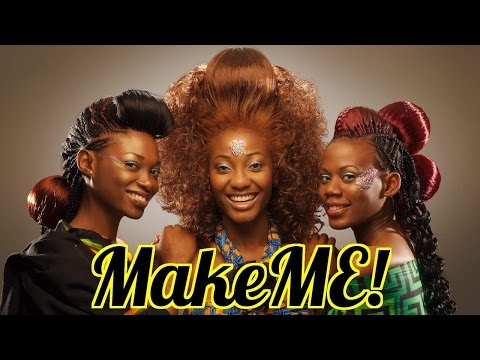 MAKEME! Tour of Nigeria's Sexiest Hair Salon (Part 1)