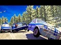 HIGH SPEED POLICE CHASES GONE BAD! - BeamNG Drive Crash Test Compilation Gameplay