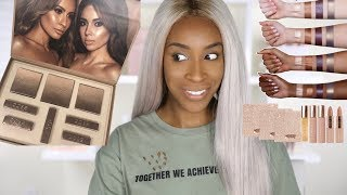 Trying Desi X Katys Makeup Collection  Jackie Aina