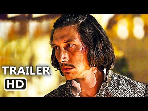 THE MAN WHO KILLED DON QUIXOTE   2  NEW 2018 Adam Driver, Terry Gilliam Movie HD