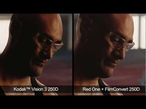 FilmConvert - Digital Vs Film Comparison