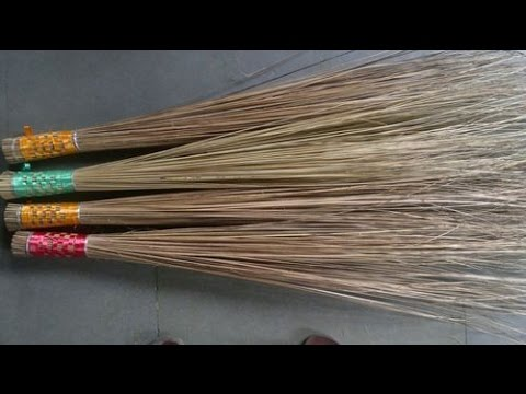 How to make Coconut broom
