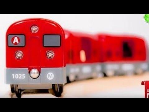 Download Spielzeug aus Holz - Züge und Fahrzeuge - Die Bahnschranke - Brio toys