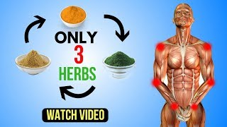 Only 3 Herbs Will Help you to Get Rid Of Inflammation Fast Naturally