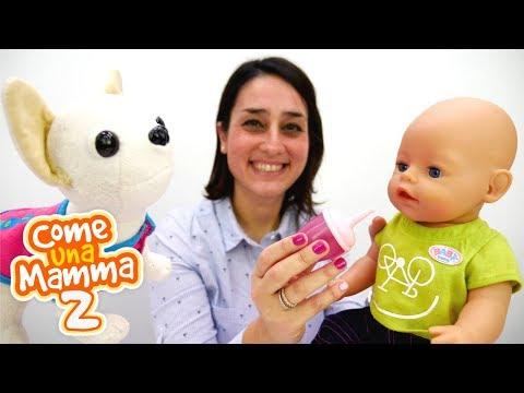 Giochi  e video per bambini. Bambola Nenuco.  Come una mamma