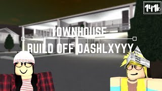 Roblox: Welcome to Bloxburg | Townhouse Build Off with oAshlxyyy (141k)