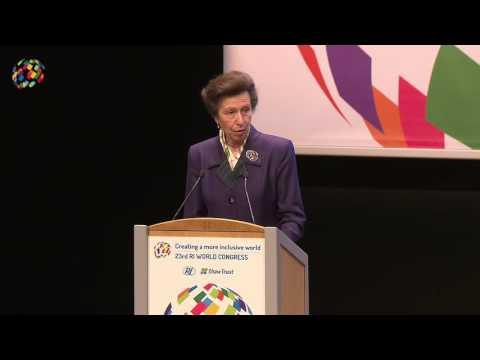 HRH The Princess Royal opening address | RI World Congress 2016