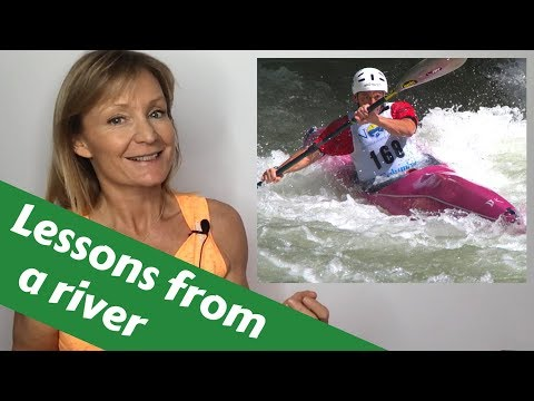 Life skills coaching. Whitewater slalom life lessons from a river. Athlete story Joe Jacobi part 1
