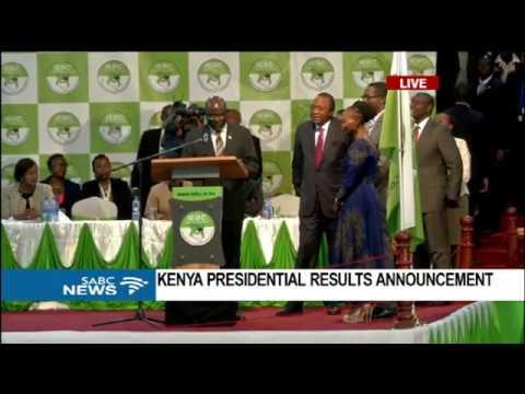 BREAKING NEWS: Uhuru Kenyatta wins Kenya presidential election 2017