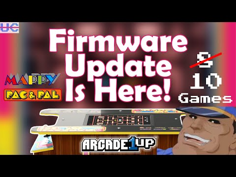 Ms. Pac-Man Firmware Update Out Now! New Games Added To The Arcade1up Cocktail Cabinet from Unqualified Critics