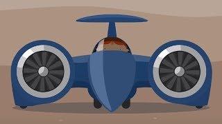 Мультфильм про машинки -Доктор Машинкова  - Самый быстрый автомобиль- мультфильм для детей