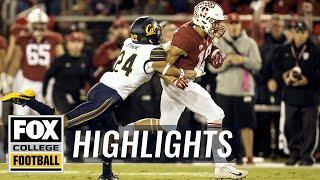 Stanford vs Cal | Highlights | FOX COLLEGE FOOTBALL