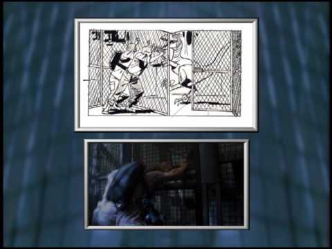Storyboard-to-Final-Feature Comparison 1 - The Lab - Jurassic Park III