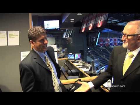 Columbus Blue Jackets announcer Greg Murray rocks Nationwide Arena ...