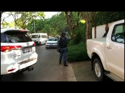 South African police raid home of wealthy Gupta family as part of corruption allegations