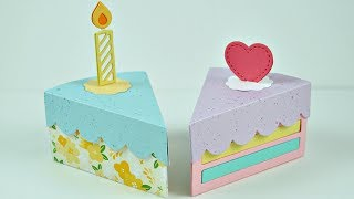 Intro to Cake Slice Box + 2 cake boxes from start to finish