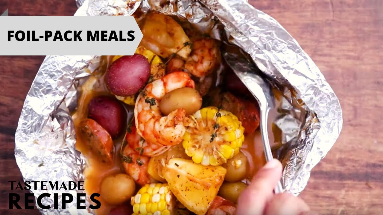 Download 4 Foil-Packet Recipes That Will Make Weeknight Dinner Easier