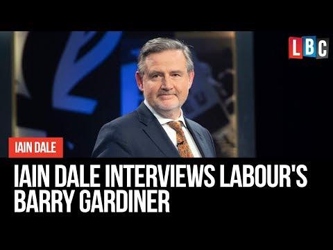 Iain Dale Interviews Barry Gardiner