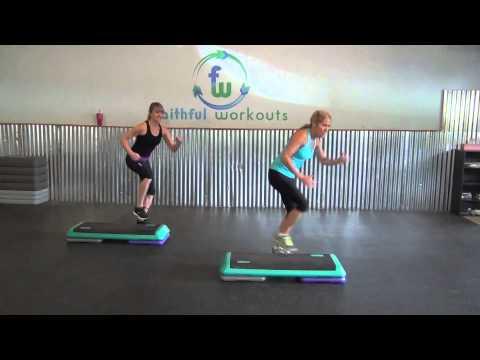Faithful Workouts: 10 Minute Leg Toning Workout On A Step