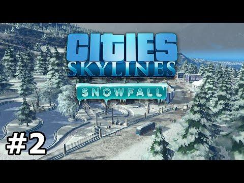 Cities: Skylines - Snowfall - Trams - PART #2 |