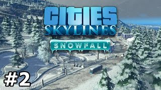 Cities: Skylines - Snowfall - Trams - PART #2