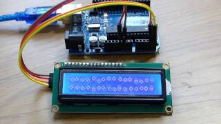 How To Connect An I2C Lcd Display To An Arduino Uno Tutorial
