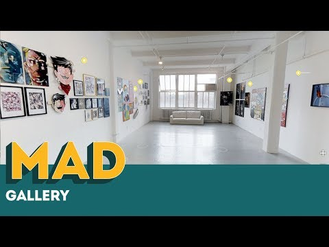 MAD Gallery NYC | Virtual Tour | Chelsea | 2.2.18