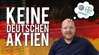Siemens, Bayer, Volkswagen – Warum ich keine deutschen Aktien kaufe!