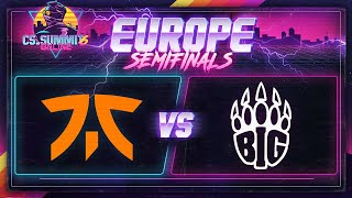 Fnatic vs BIG (Nuke) - cs_summit 6 Online: EU Playoffs - Game 2