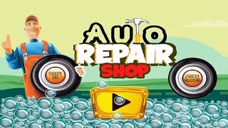 auto repair shop awesome lightning fast car wash salon video for kids   for children by kid vids