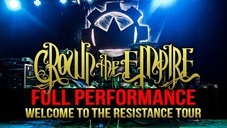 Crown The Empire - FULL SET! LIVE! Welcome To The Resistance Tour
