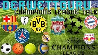 Champions League 2020 Achtelfinale Prognose