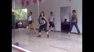 la invite a bailar--choke-- ensayo