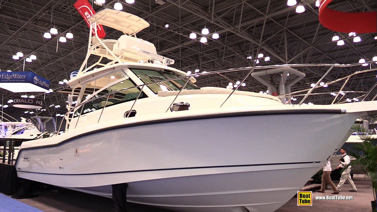2015 boston whaler 345 conquest fishing boat walkaround for Fishing boats nyc