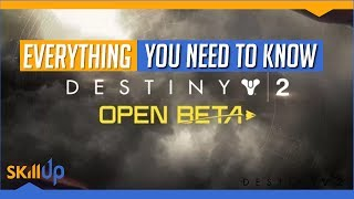Destiny 2 | How to sign up for the Open Beta without deleting your account (seriously)